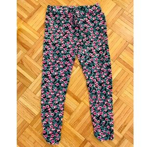 See You Monday Los Angeles Floral Joggers, Large
